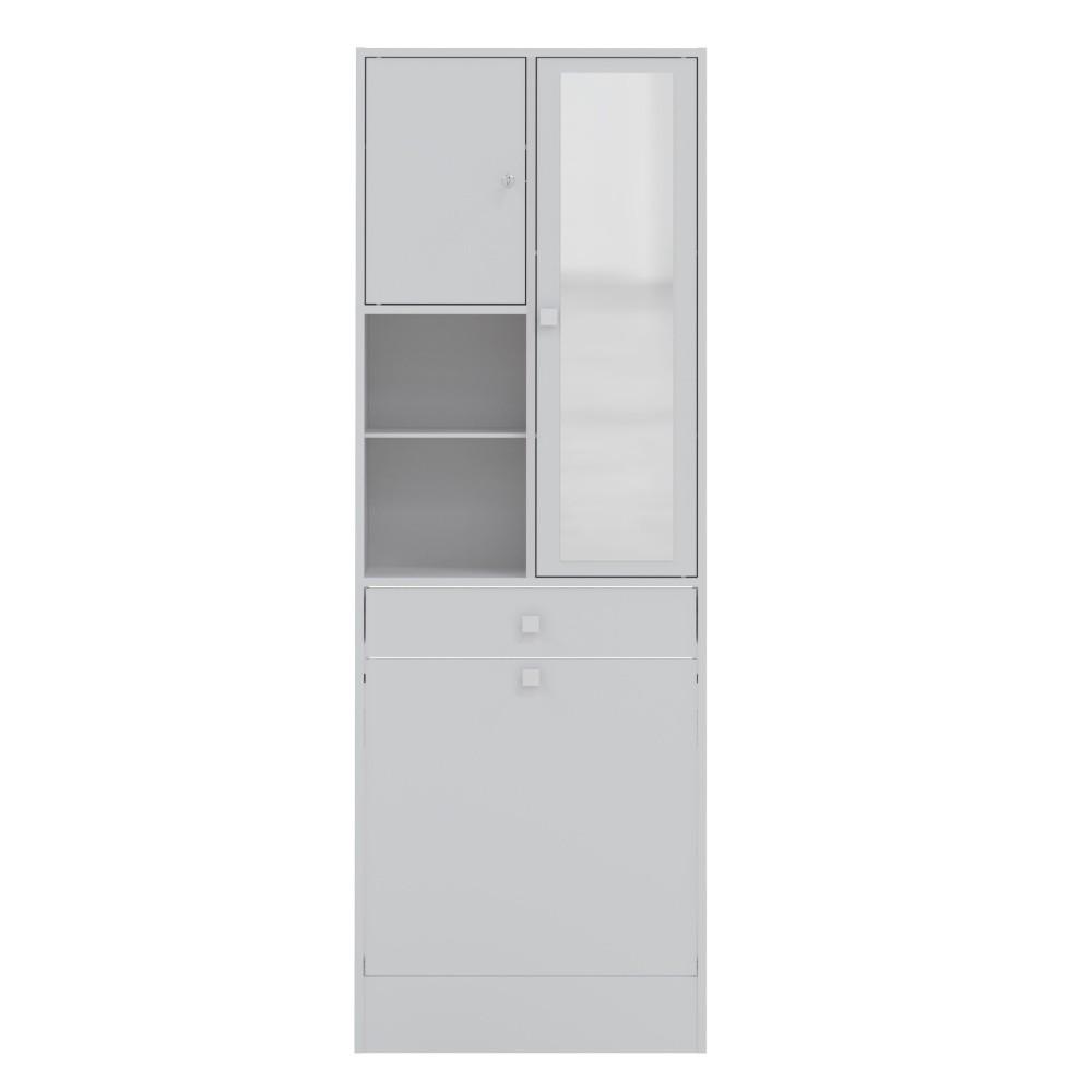 Biela kúpeľňová skrinka Symbiosis André, šírka 62,6cm
