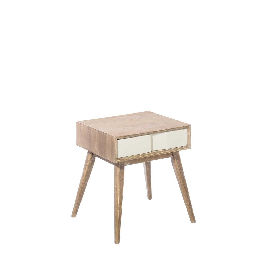 Nočný stolík z jaseňového dreva Tropicho