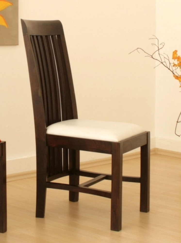 BANGALORE stolička #7 biele čalúnenie