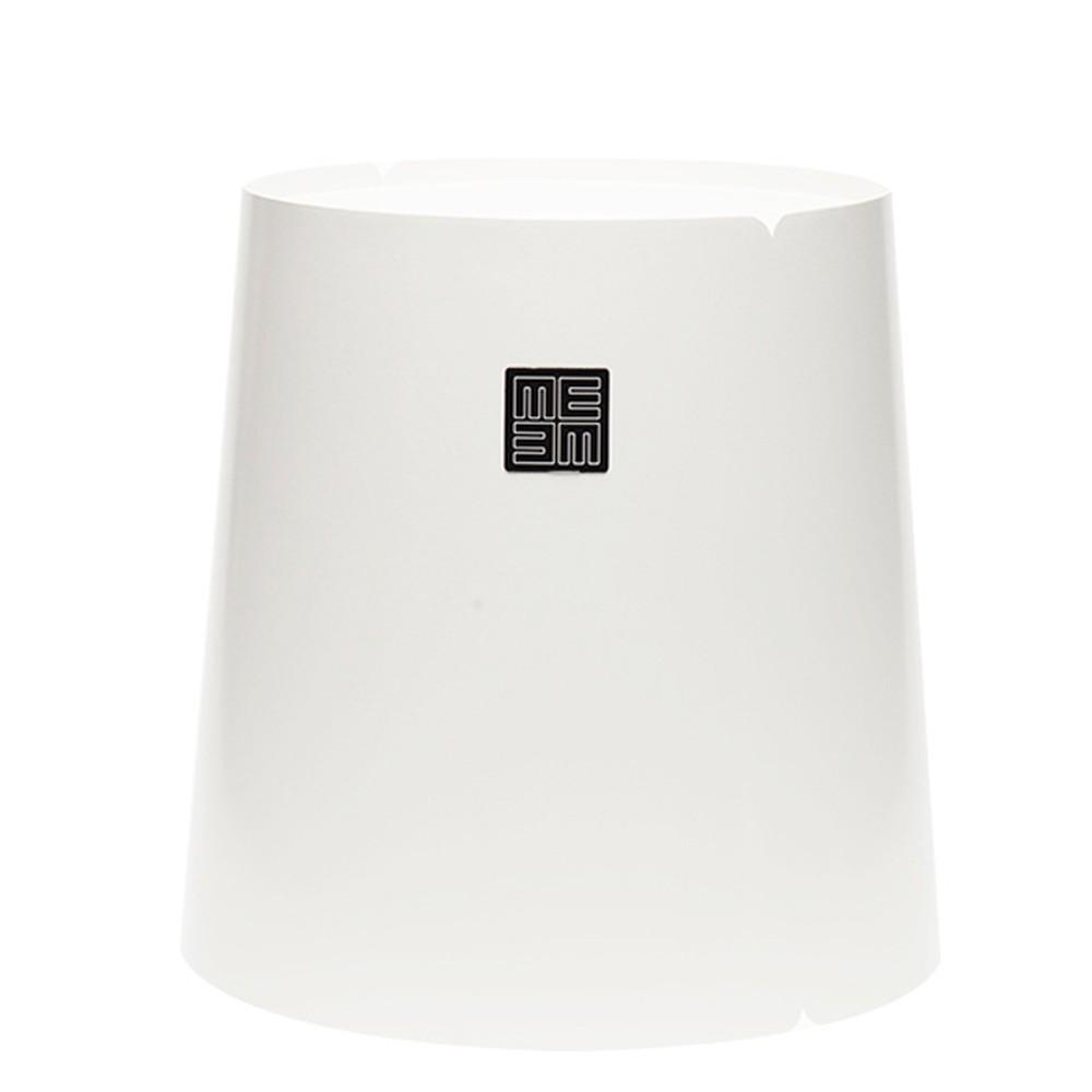 Biely príručný stolík MEME Design Bobino