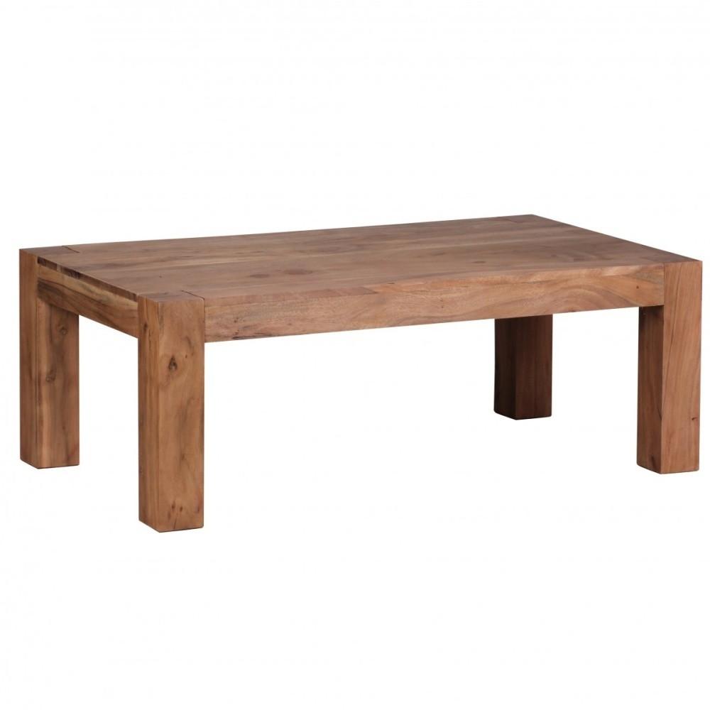 Konferenčný stolík z masívneho akáciového dreva Skyport Frida