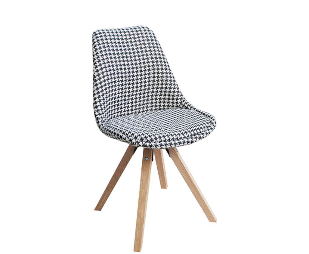 Stolička SCANDA - hnedá