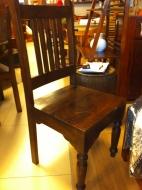 Furniture nábytok  Masívna stolička z Palisanderu  Parastú  43x45x100 cm