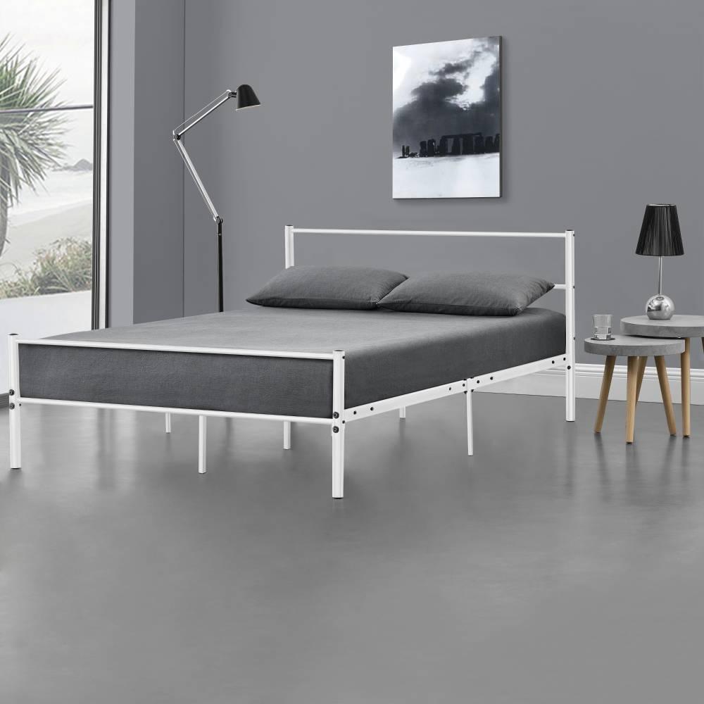 2f2fbe7bd7dd  en.casa ® Kovová posteľ AADB-1706