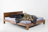 Furniture nábytok  Masívna posteľ z Palisanderu  Rámín I  200x200 cm