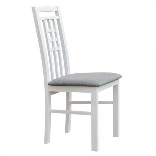 Biely nábytok Stolička Belluno Elegante 31, čalúnenie LARGO