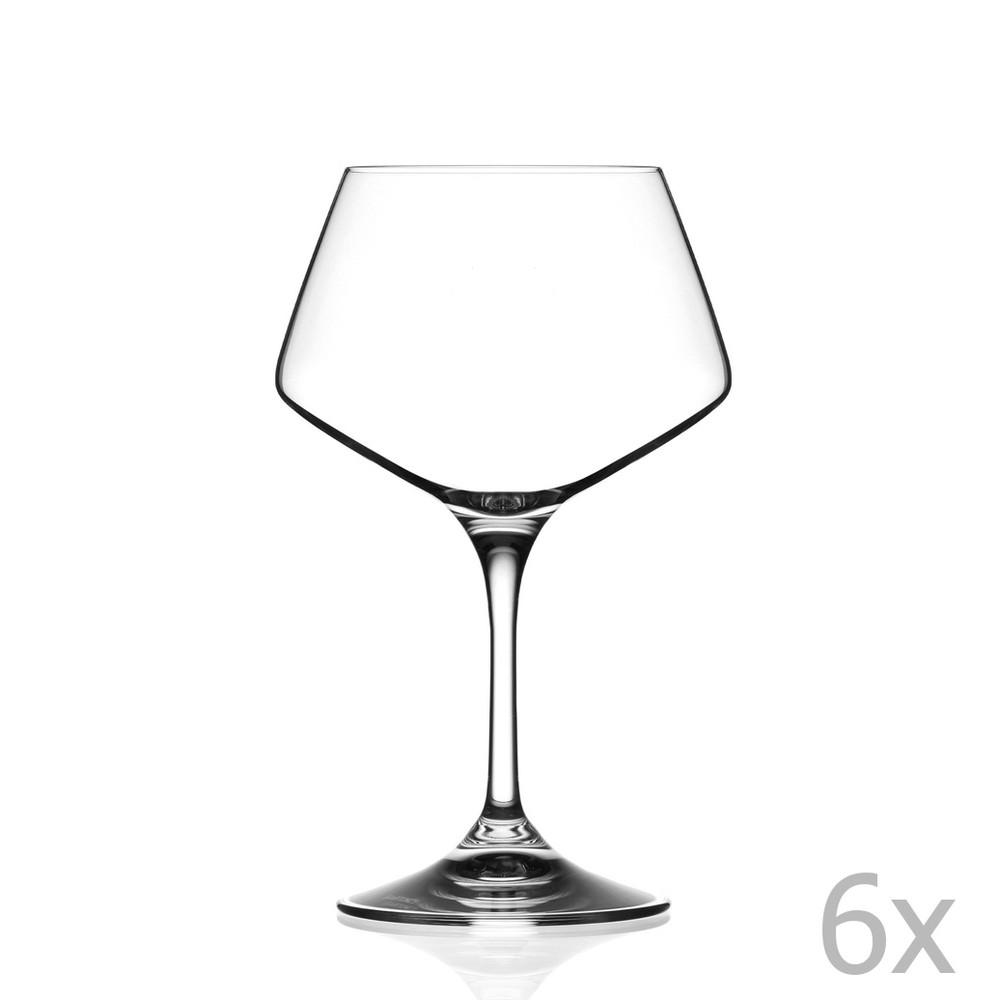 Sada 6 pohárov na víno RCR Cristalleria Italiana Grazia