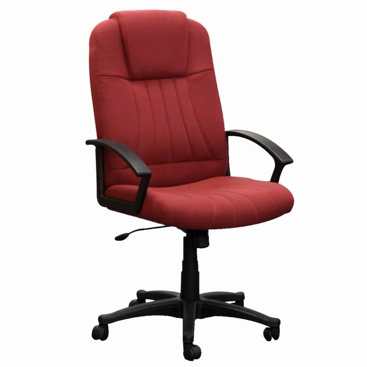 Kancelárska stolička TC3-7741  BORDOVOCERVENA L2519 LATKA