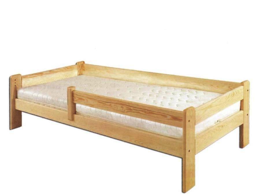 Jednolôžková posteľ 90 cm LK 137 (masív)