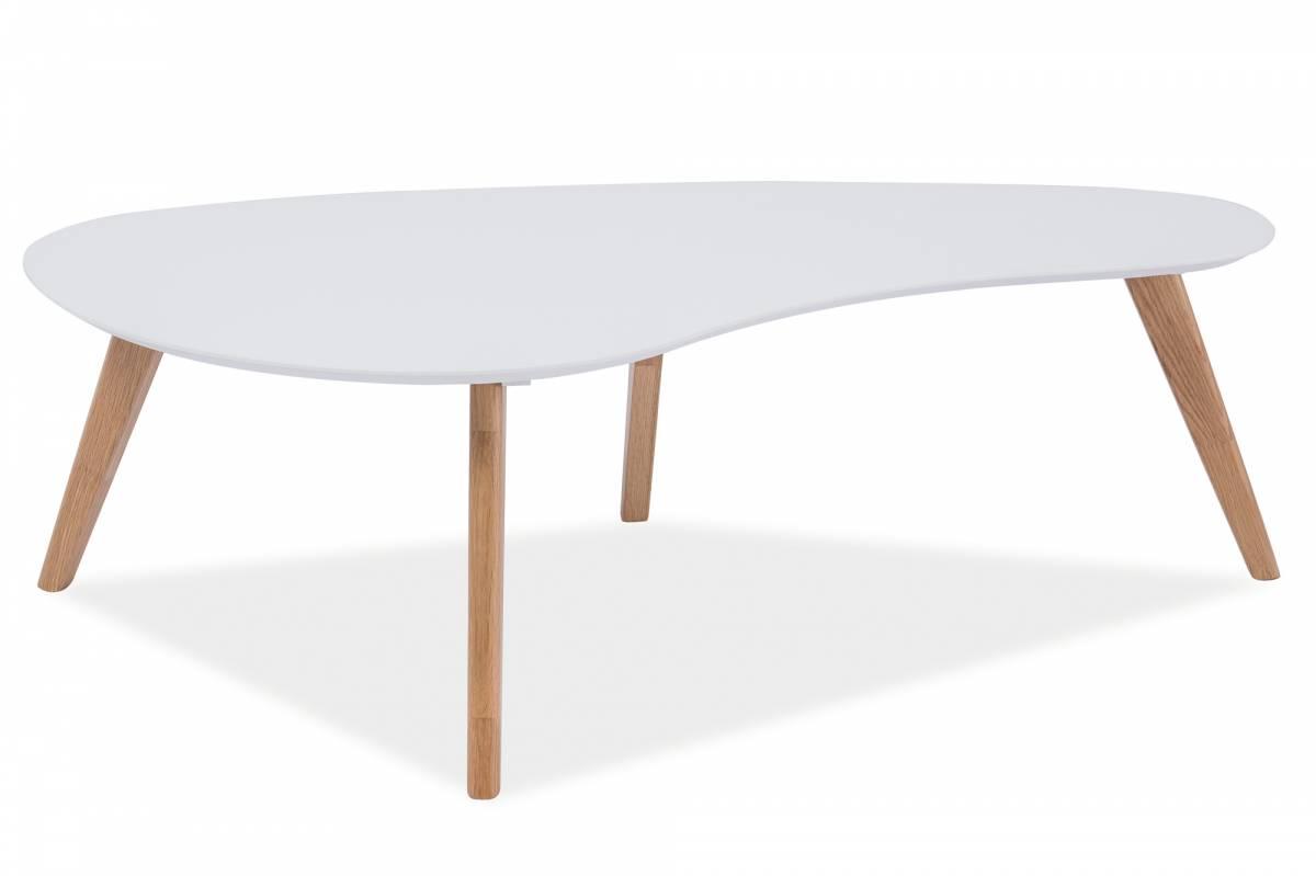 Konferenčný stolík Aurea (biela)