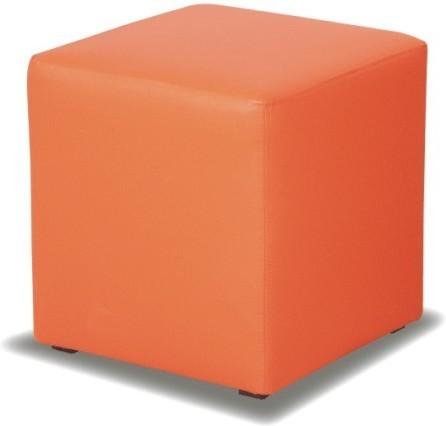 TEMPO KONDELA KUBIK taburetka - oranžová