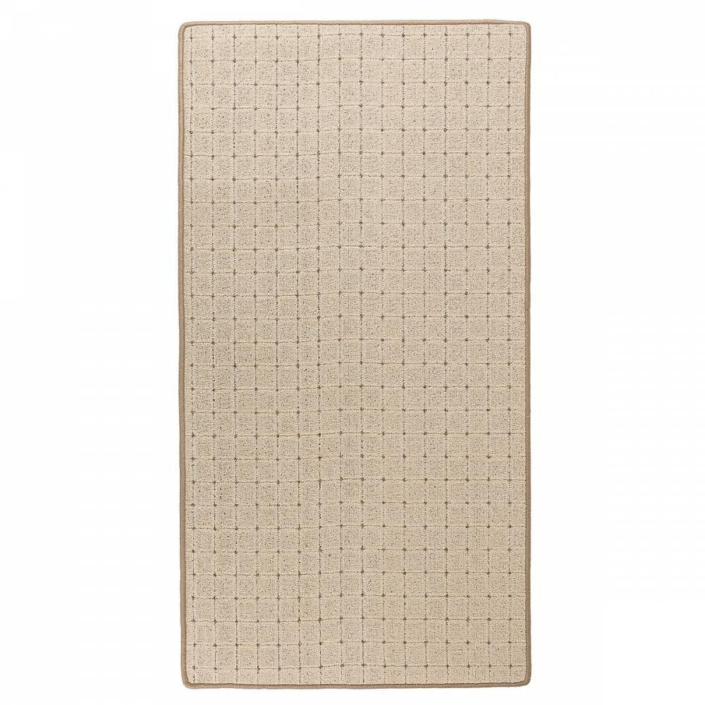 Vopi Kusový koberec Udinese béžová, 60 x 110 cm