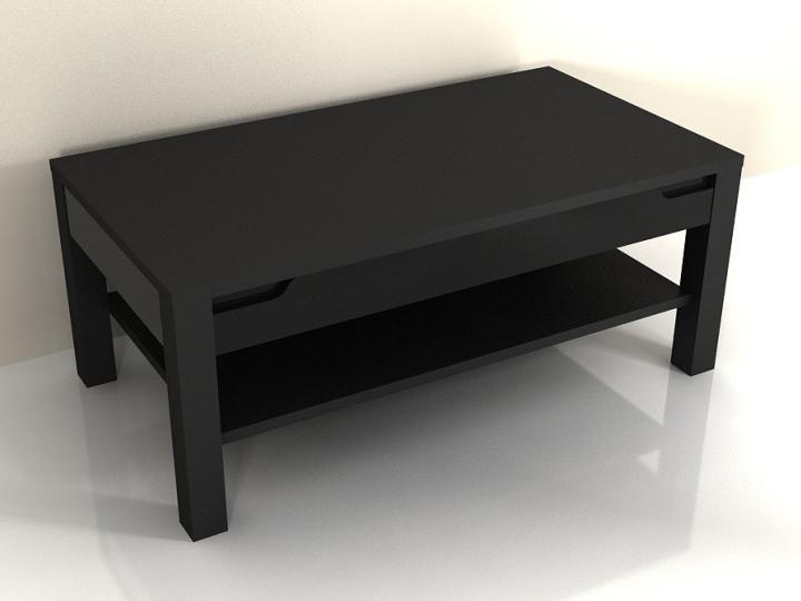 Konferenčný stolík Adonis AS 96 (čierna)