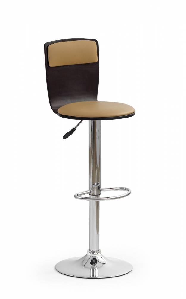 Barová stolička H-7 Wenge + Coffee