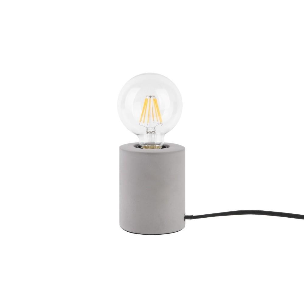 Stolová lampa so svetlosivým mramorovým podstavcom Leitmotiv Bar