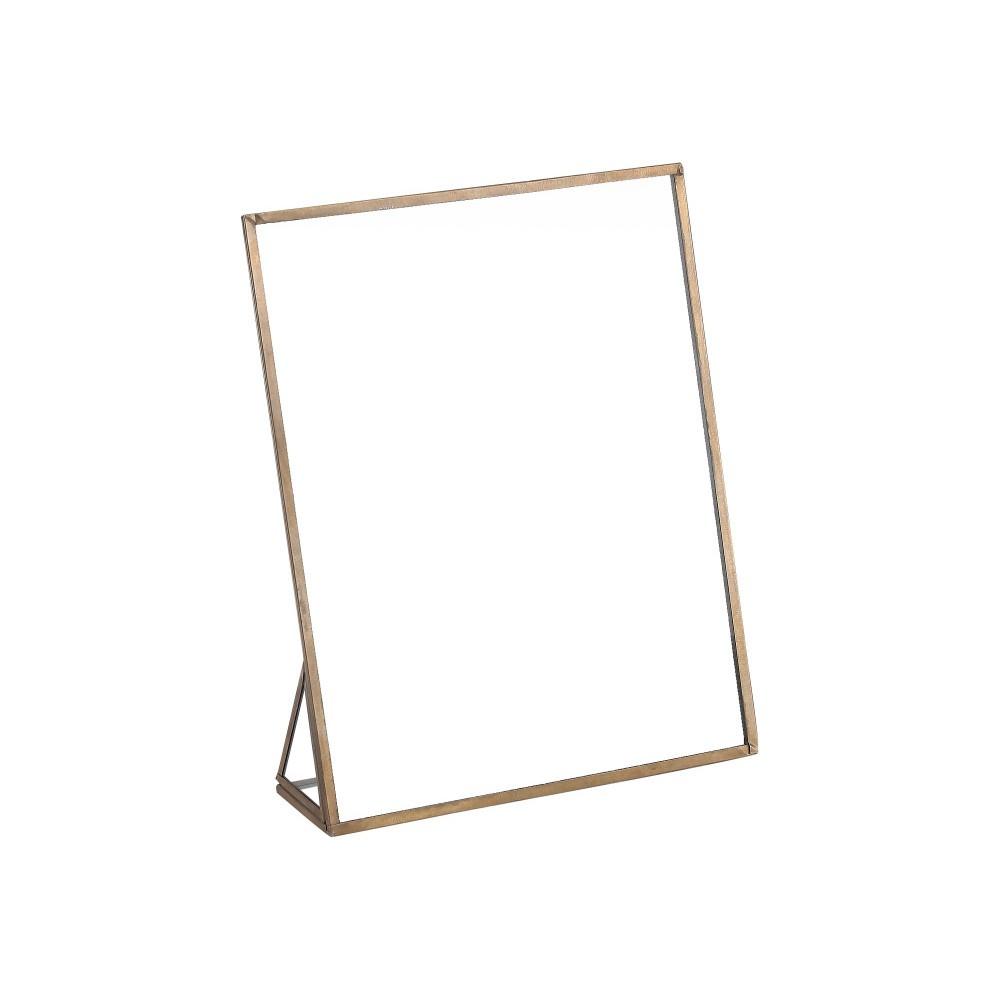 Kovové zrkadlo A Simple Mess Freja, 25×25cm