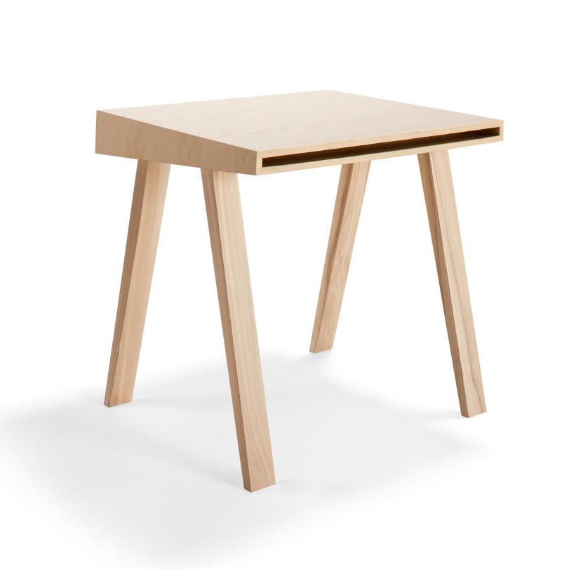Písací stôl 4.9 Emko, 1 zásuvka, európsky jaseň