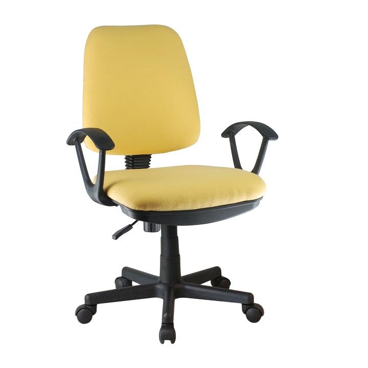 Kancelárska stolička Colby (žltá)