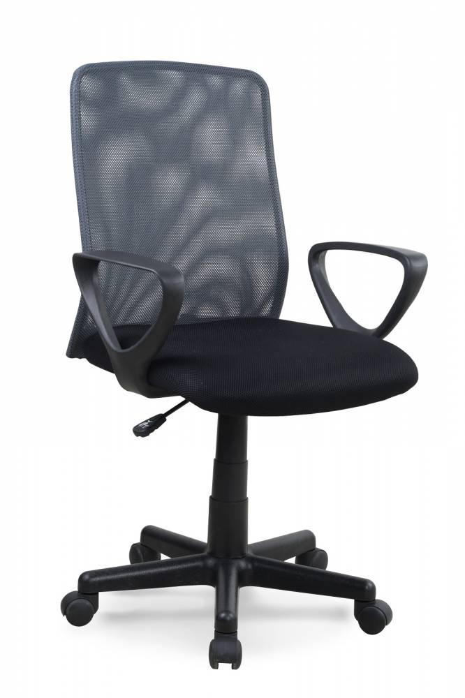Kancelárska stolička Alex čierna + šedá