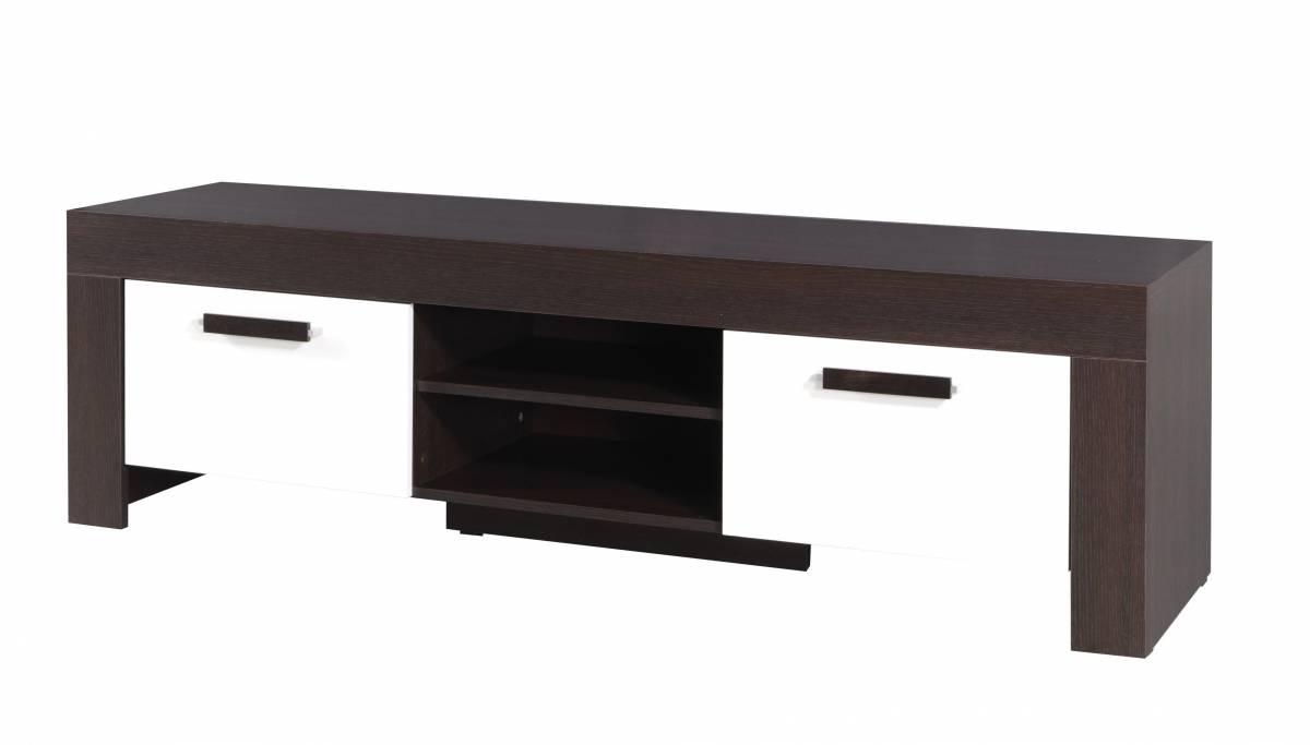 TV stolík/skrinka C14 (milano + krémová)