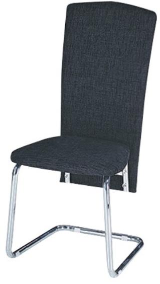 Jedálenská stolička July čierna