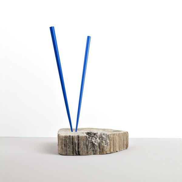 Lakované jedálne paličky CHOPSTICKS modré