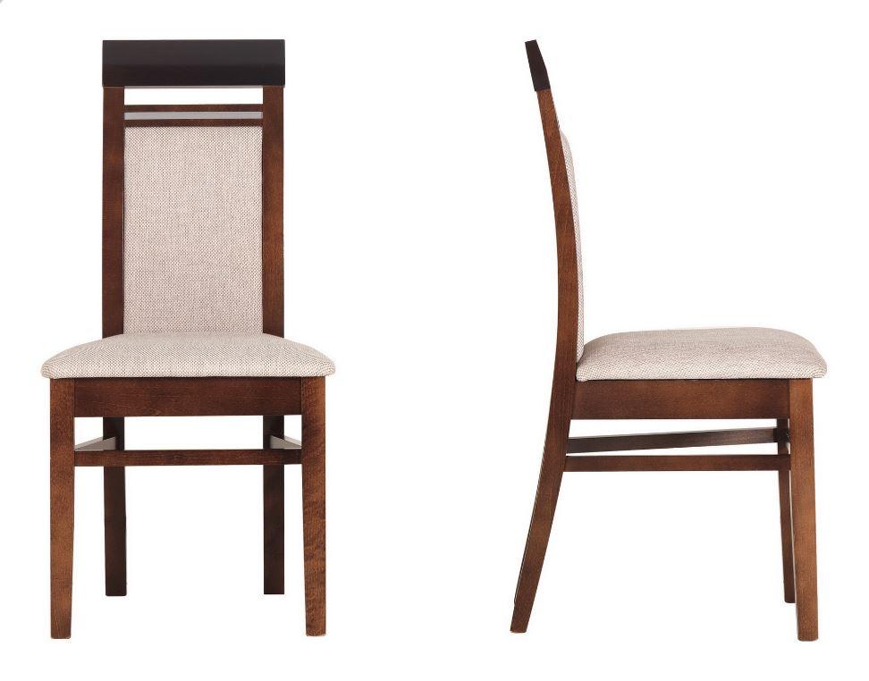 BOG-FRAN FORREST FR 13 jedálenská stolička - dub milano / orech tmavý