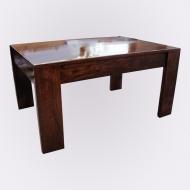 Furniture nábytok  Masívny konferenčný stolík z Palisanderu  Ašók  90x60x35 cm