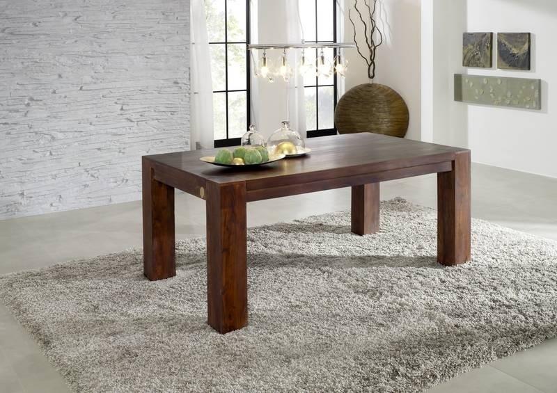 MAMMUT OXFORD Kolonialstil jedálenský stôl 160x90 masívne agátové drevo #613