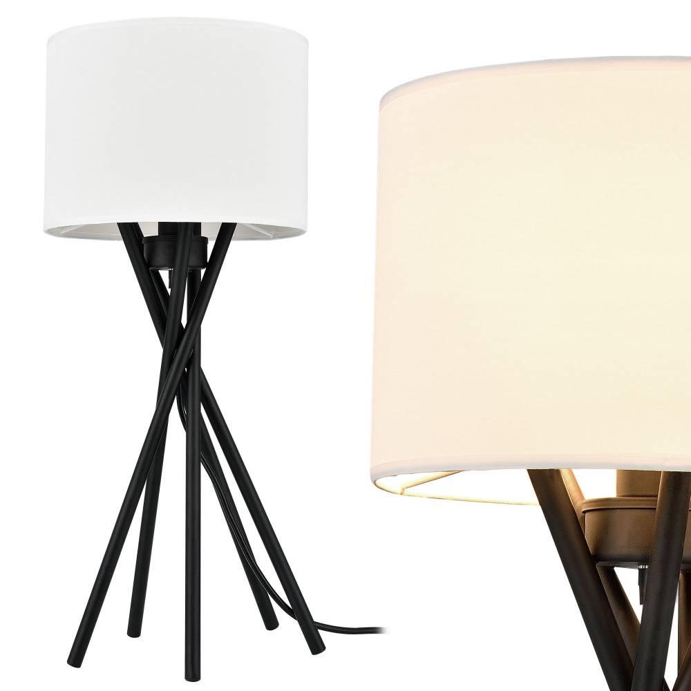 [lux.pro]® Elegantná stolová lampa – nočná lampa - Mikado / 1 x E14