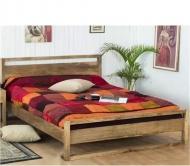 Furniture nábytok  Masívna posteľ z Palisanderu  Afšár  200x200 cm