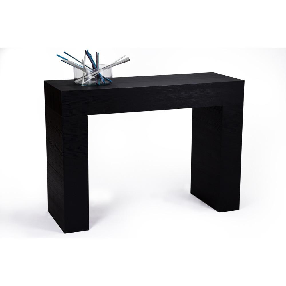 Konzolový stolík v dekore čiernej borovice MobiliFiver Evolution