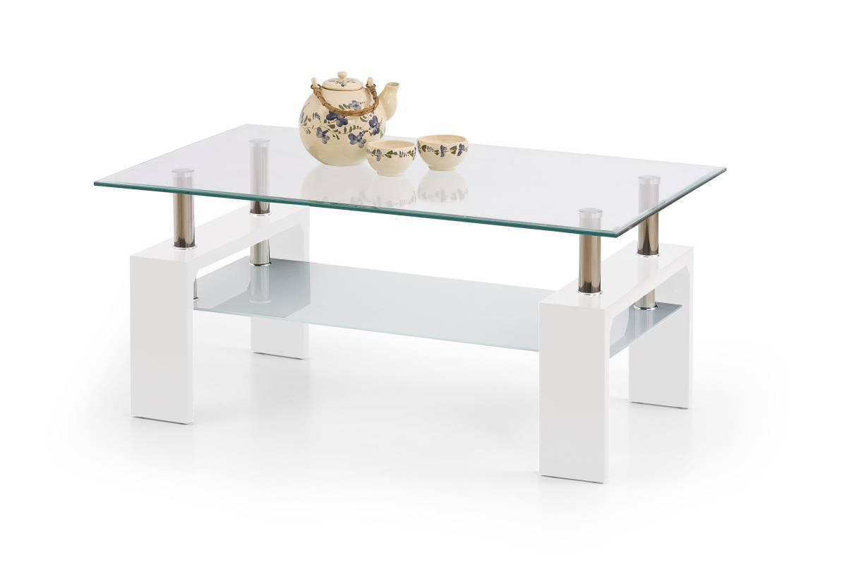 Konferenčný stolík Diana Intro (biela)