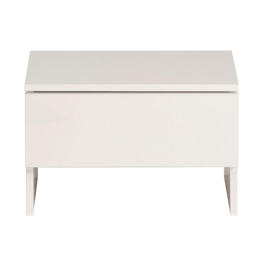 Biely nočný stolík Parisot Arlette
