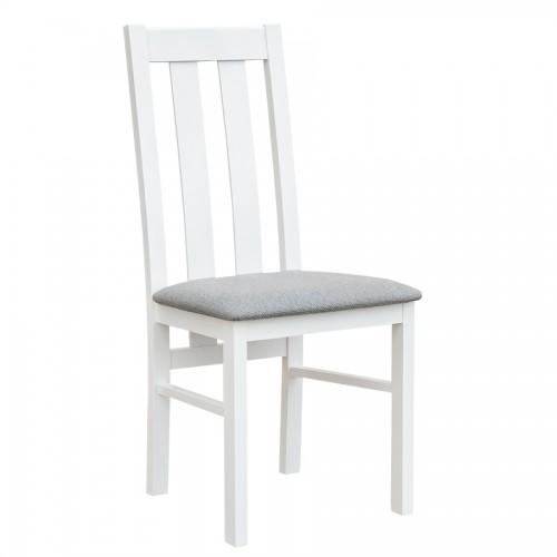Biely nábytok Stolička Belluno Elegante 10, čalúnenie LARGO