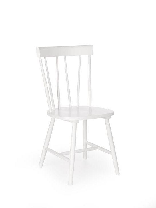 Jedálenská stolička Charles (biela)