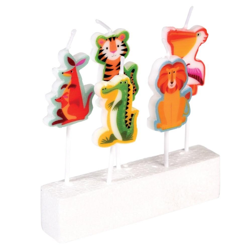 Sada 5 sviečok Rex London Colourful Creatures