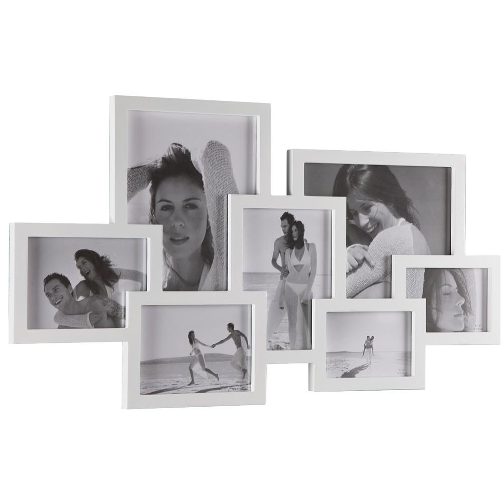 Biely fotorámik Tomasucci Collage