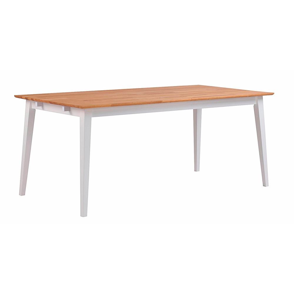 Prírodný dubový jedálenský stôl Folke Mimi, dĺžka 180 cm