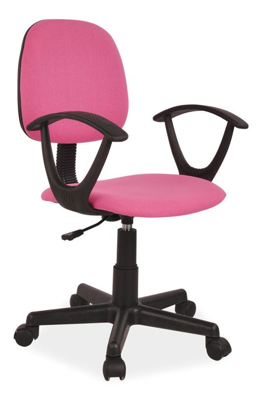 Kancelárske kreslo K-149, ružové
