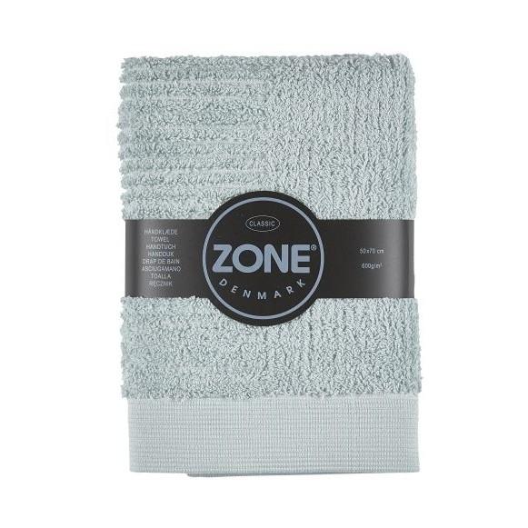 Sivozelený uterák Zone, 70 x 50 cm