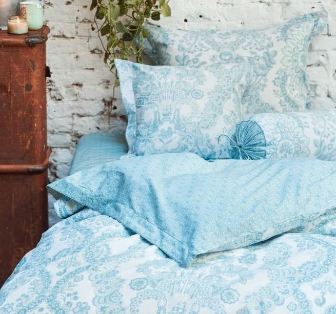 Obliečka na vankúš Pip Studio Lacy Dutch, 60x70 cm, modrý