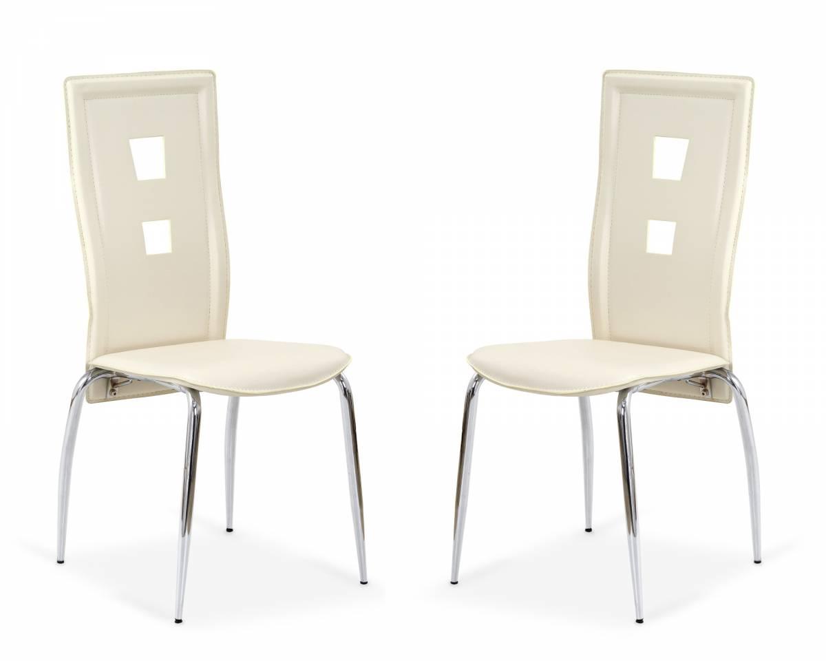 Set 2ks. jedálenských stoličiek K25 krémová *výpredaj