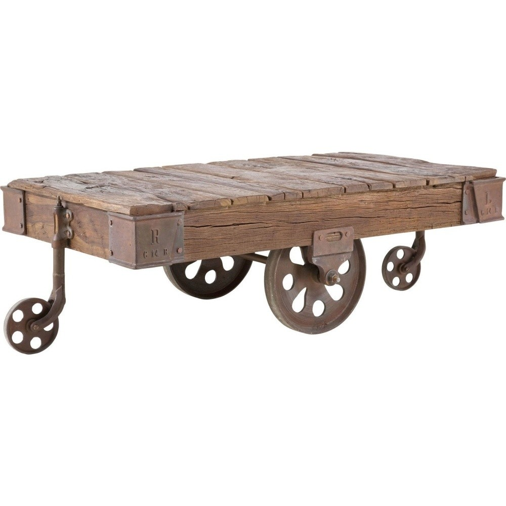 Konferenčný stolík Kare Design Railway
