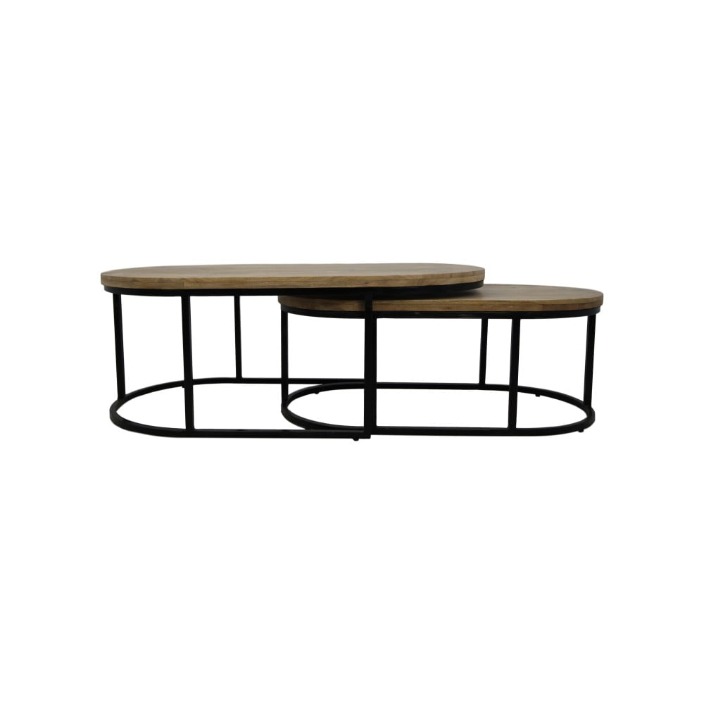 Konferenčný stolík z mangového dreva HSM collection City, 60×120 cm