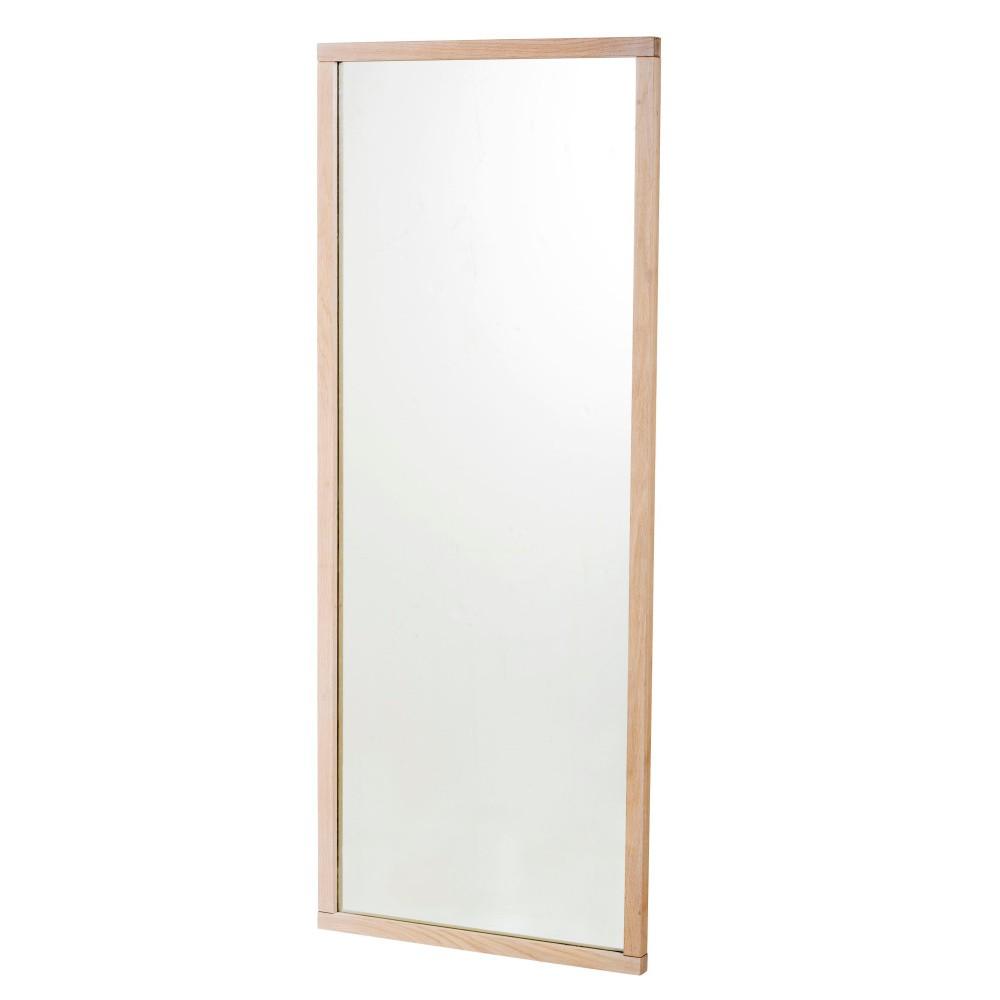 Matne lakované dubové zrkadlo Folke Gefjun