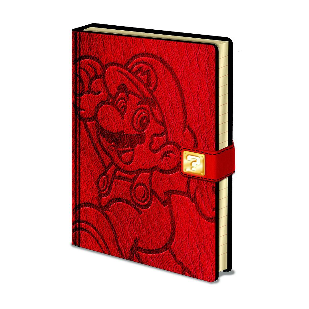 Zápisník A5 Pyramid International Super Mario, 120 strán