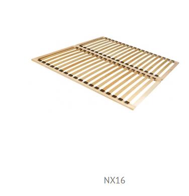 Manželská posteľ Julietta JLTL162   Prevedenie: rošt NX16