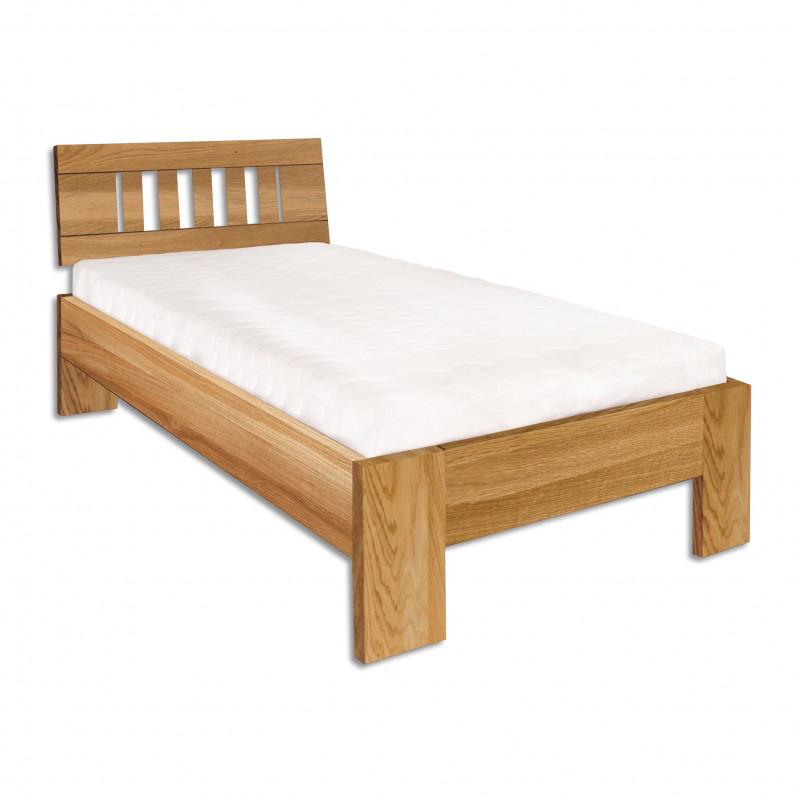 Jednolôžková posteľ 90 cm LK 283 (dub) (masív)