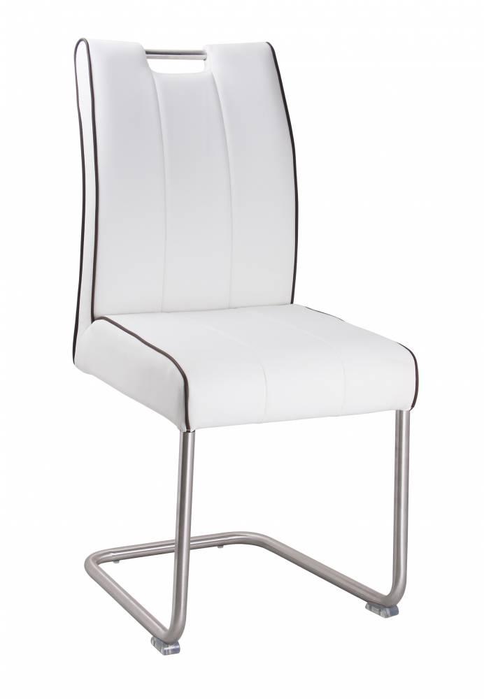 Jedálenská stolička LAVENTO 754 biela